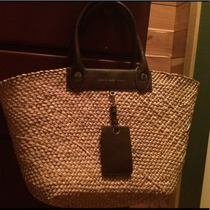 Marc by Marc Jacobs basket weave tote